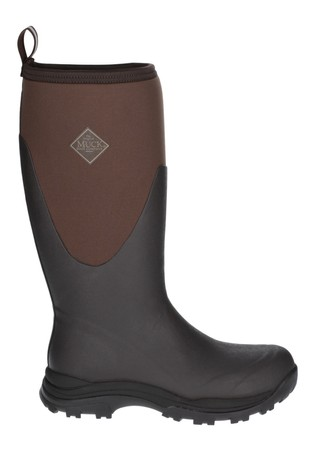Muck Boots Brown Outpost Tall Wellington Boots