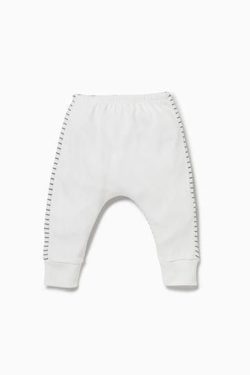MORI White Stripe Yoga Pants