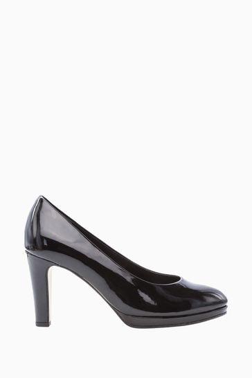 Gabor Splendid Black Dress Court Shoes