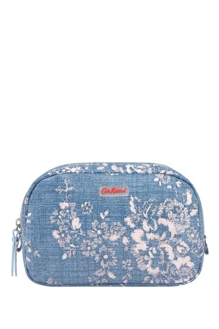 Cath Kidston® Washed Rose Classic Box Cosmetic Bag