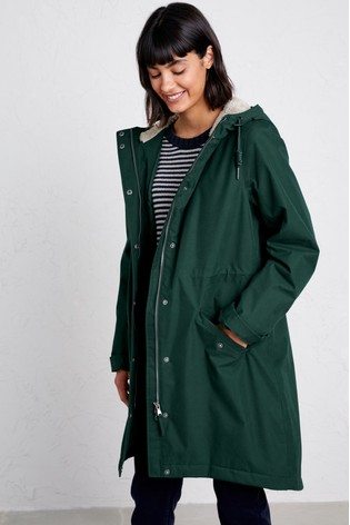 Seasalt Green Plant Hunter 2 Coat