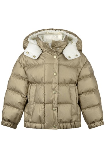 Girls Gold Down Padded Daos Jacket