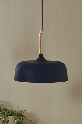 Anke Matt Domed Metal Pendant by Pacific