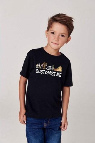 Personalised Disney™ Star Wars™ Line Up T-Shirt
