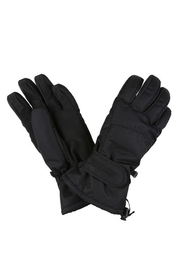 Regatta Black Transition Ii Waterproof Gloves