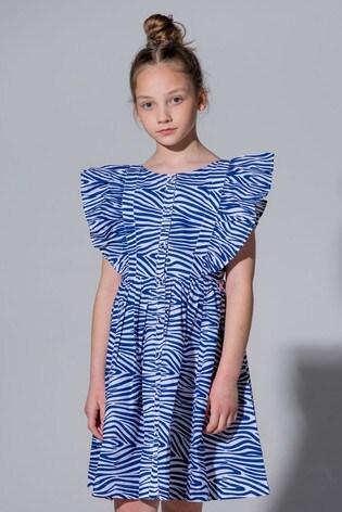 Angel & Rocket Animal Zebra Dress