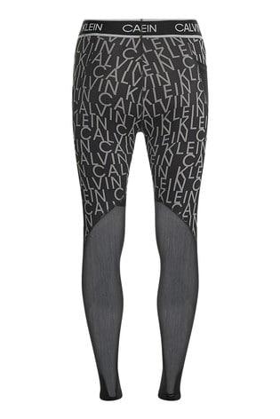 Calvin Klein Black Full Length Tights