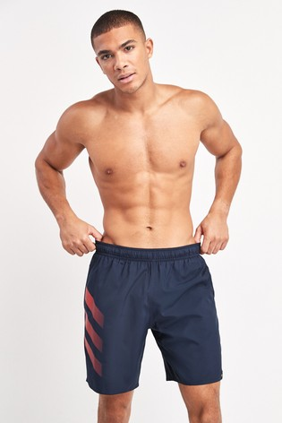 adidas Navy Badge Of Sport Swim Shorts