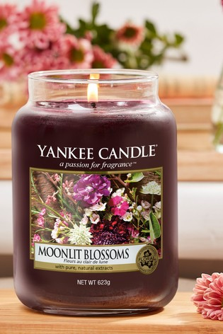 Yankee Candle Classic Large Moonlit Blossoms Candle