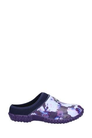 Muck Boots Blue Muckster II Slip-On Clogs