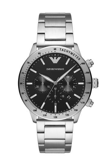 Emporio Armani Chronograph Black Dial Watch