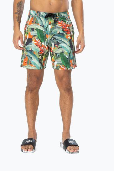 Hype. Tropical Camo Men's Board Shorts