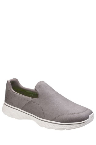 Skechers® Grey Go Walk 4 Remarkable Trainers