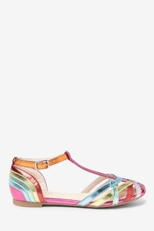 Rainbow T-Bar Sandals (Older)