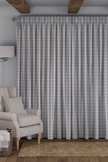 Malvern Pebble Natural Made To Measure Curtains