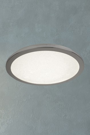 Searchlight Chrome Nexus LED Flush Ceiling Light