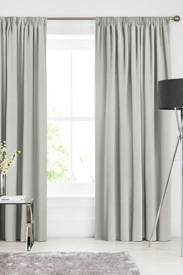 Linen Metallic Inspira Made To Measure Curtains