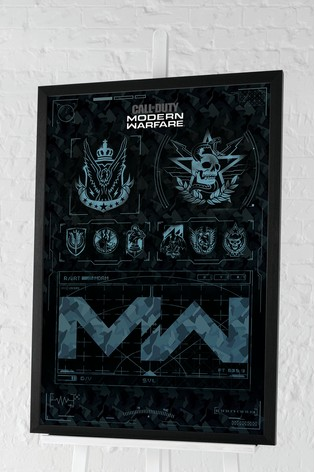 Pyramid Call of Duty Modern Warfare Framed Poster