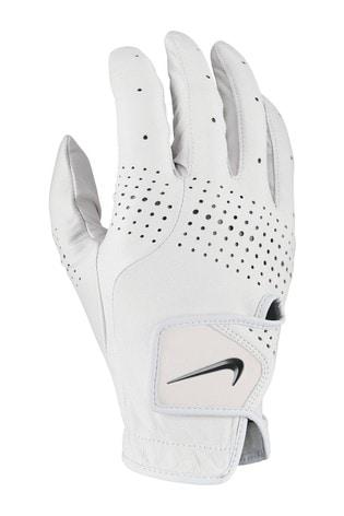Nike Mens White RH Tour Golf Gloves