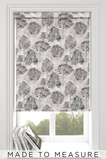 Richmond Night Grey Made To Measure Roller Blind