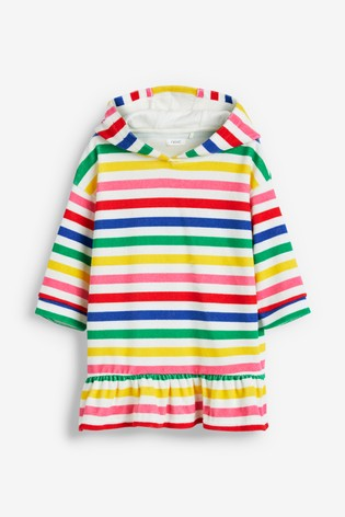 Multi Stripe Towel Dress