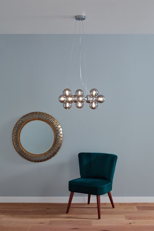Vecchio Glass Ball And Metal Pendant by Pacific