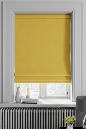 Soho Buttercup Yellow Made To Measure Roman Blind