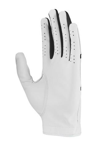 Nike Mens White LH Dura Feel Golf Gloves