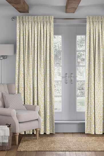 Zest Gold Lucerne Made To Measure Curtains