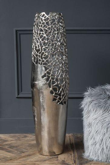 Libra Silver Apo Coral Small Vase