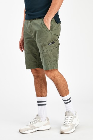 Superdry Olive Cargo Shorts