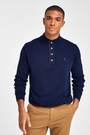 Polo Golf by Ralph Lauren 1/4 Button Knitted Jumper