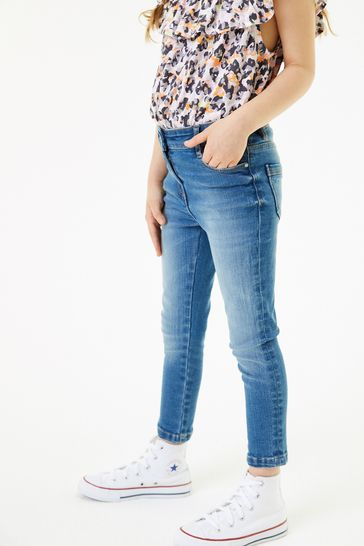 Mid Blue Slim Fit Skinny Jeans (3-16yrs)