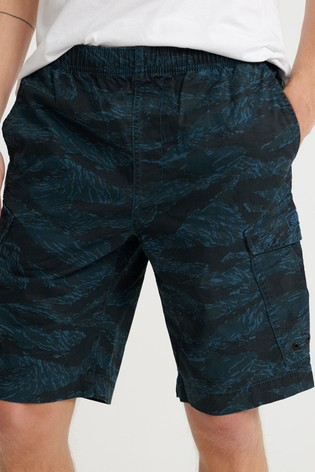 Superdry Blue Cargo Shorts