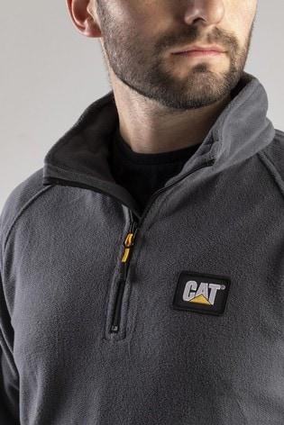 CAT® Grey Concord Fleece Pullover Fleece