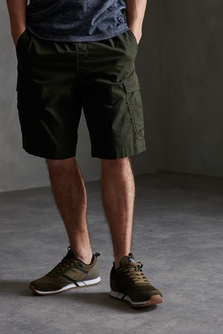 Superdry Green Cargo Shorts