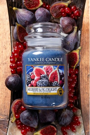 Yankee Candle Classic Large Mulberry And Fig Delight Candle