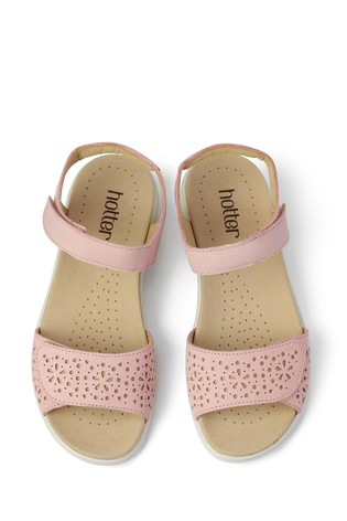 Hotter Leah Touch Fastening Open Sandals