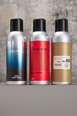 Trio 200ml Body Sprays