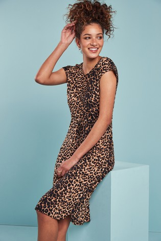 Animal Jersey Dress