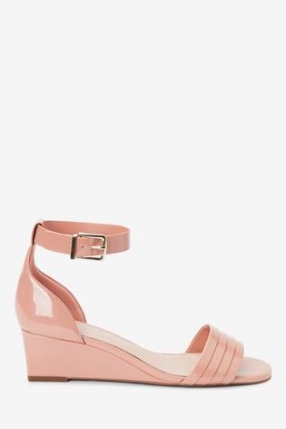 Nude Forever Comfort® Low Wedges