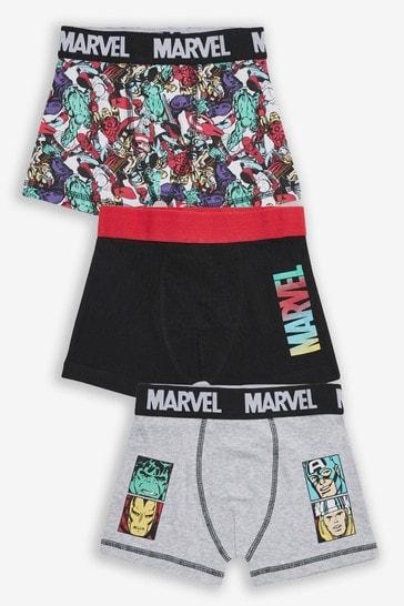 Multi 3 Pack Marvel® Trunks (2-12yrs)
