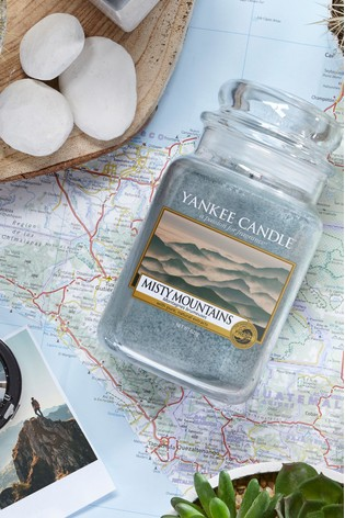 Yankee Candle Classic Large Misty Mountians Candle
