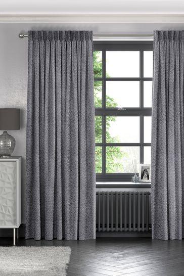 Makrana Slate Grey Made To Measure Curtains