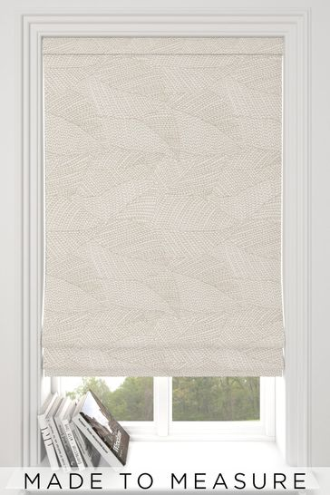 Darby Sand Natural Made To Measure Roman Blind
