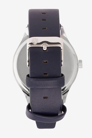 Blue Strap Watch