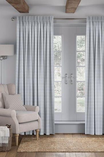 Malvern Stone Grey Made To Measure Curtains