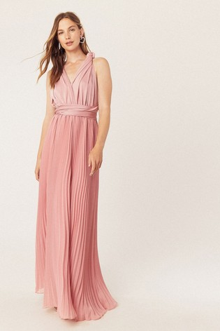 Oasis Pink Wear It Your Way Maxi Dress*