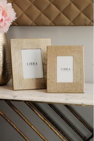 Libra Amaya Champagne Picture Frame