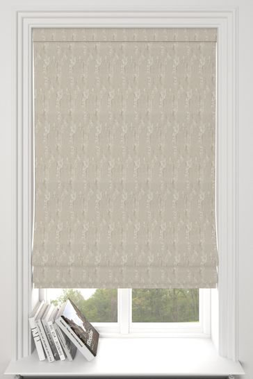 Monroe Champagne Natural Made To Measure Roman Blind